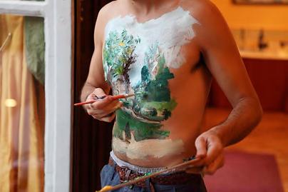 Santiago Reyes Artiste Equatorien