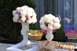 flowers, reception