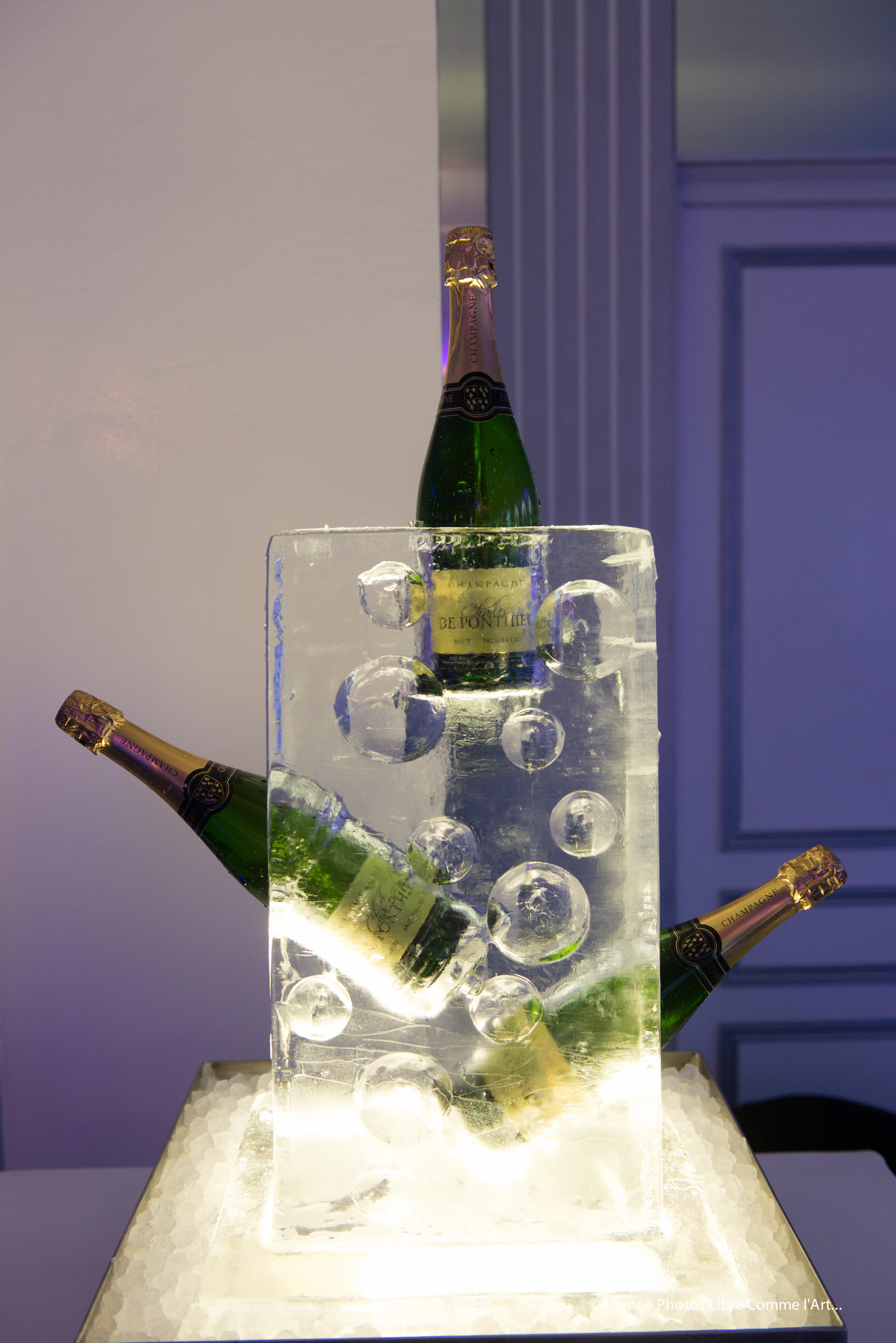 champagne, event, bar