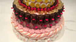 candy bar, party, candy, fête, bonbons, candy cake