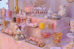 candy bar, party, candy, fête, bonbons, girly party