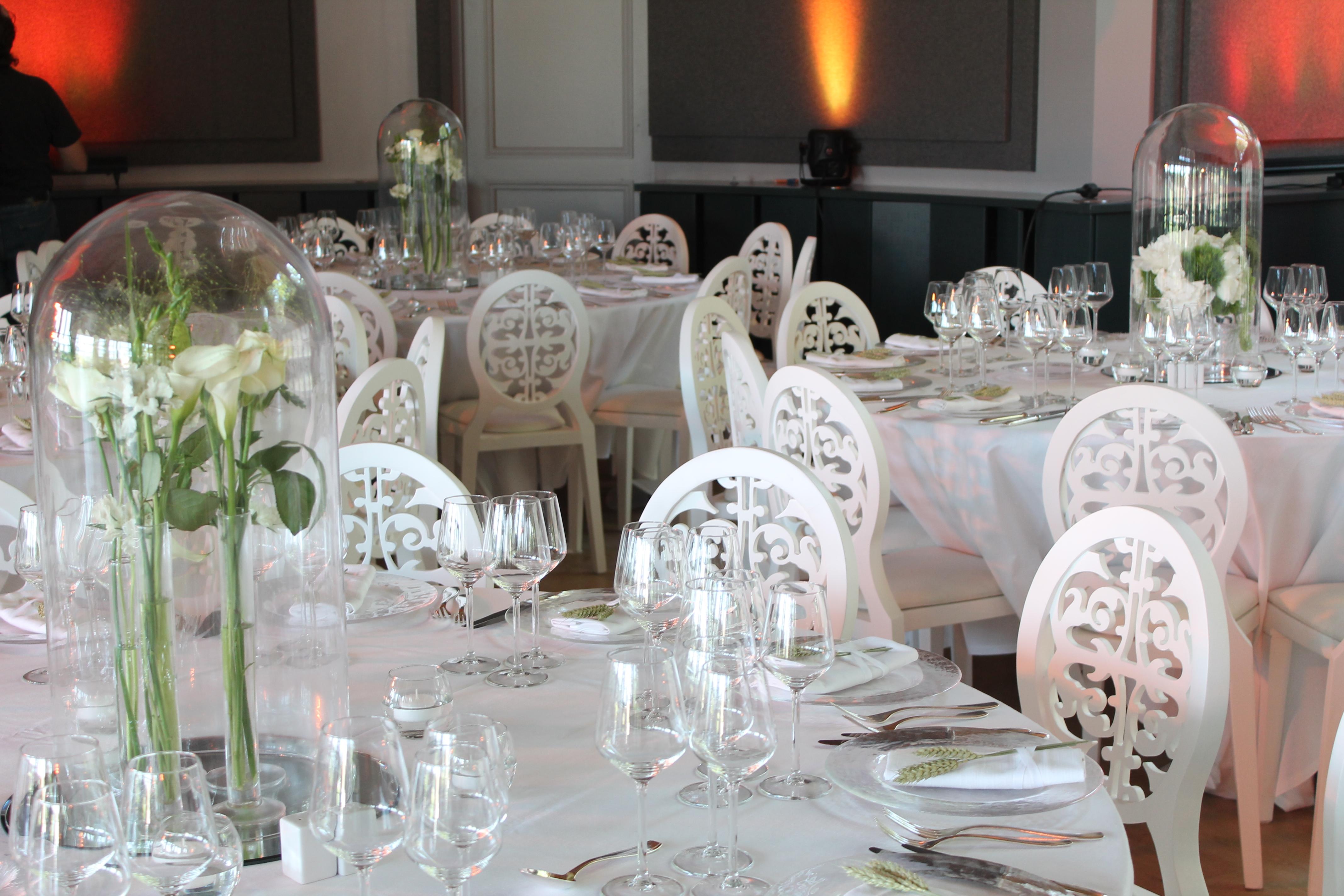 reception, wedding, white, flowers
