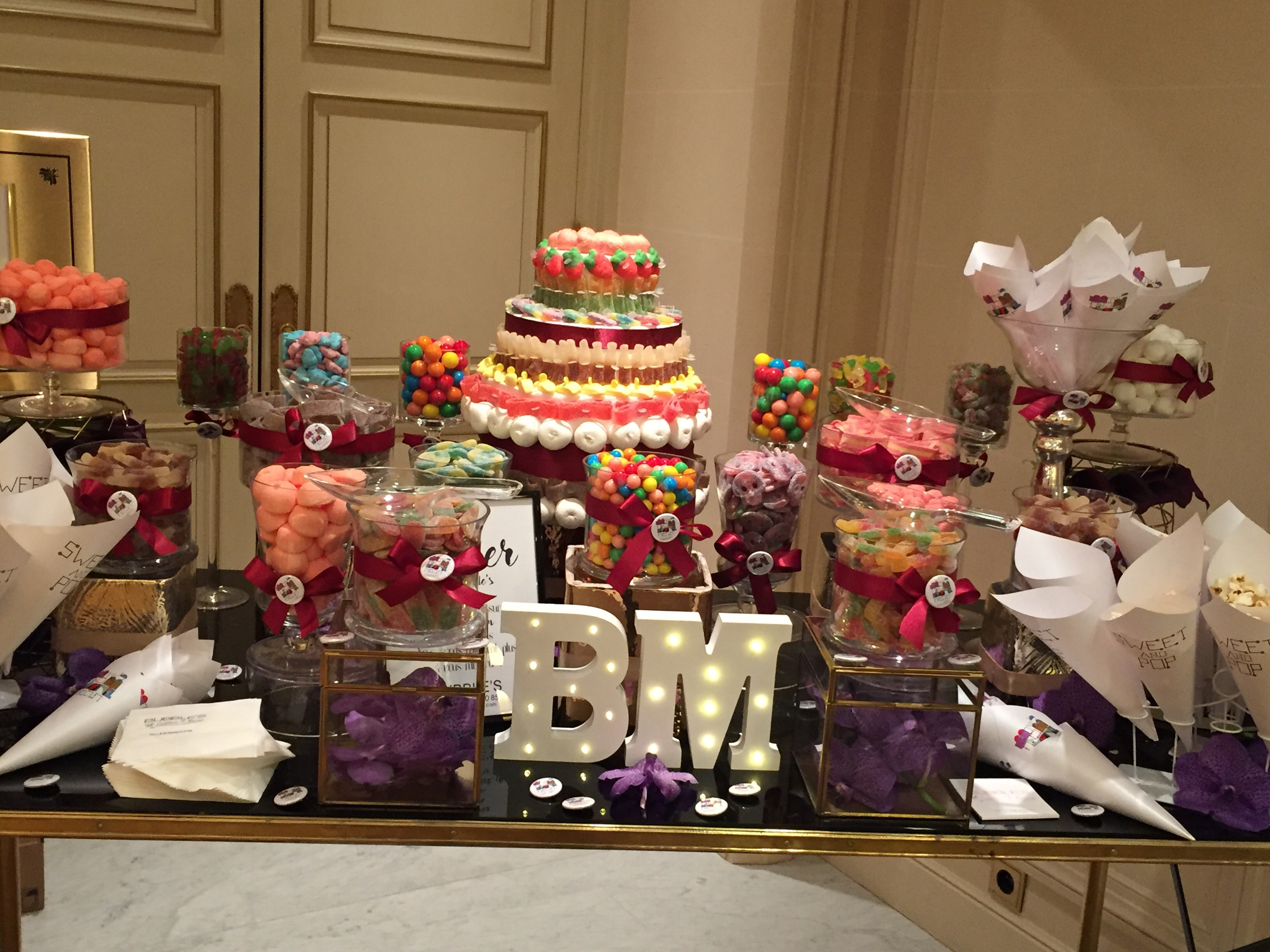 candy bar, party, candy, fête, bonbons,buffet