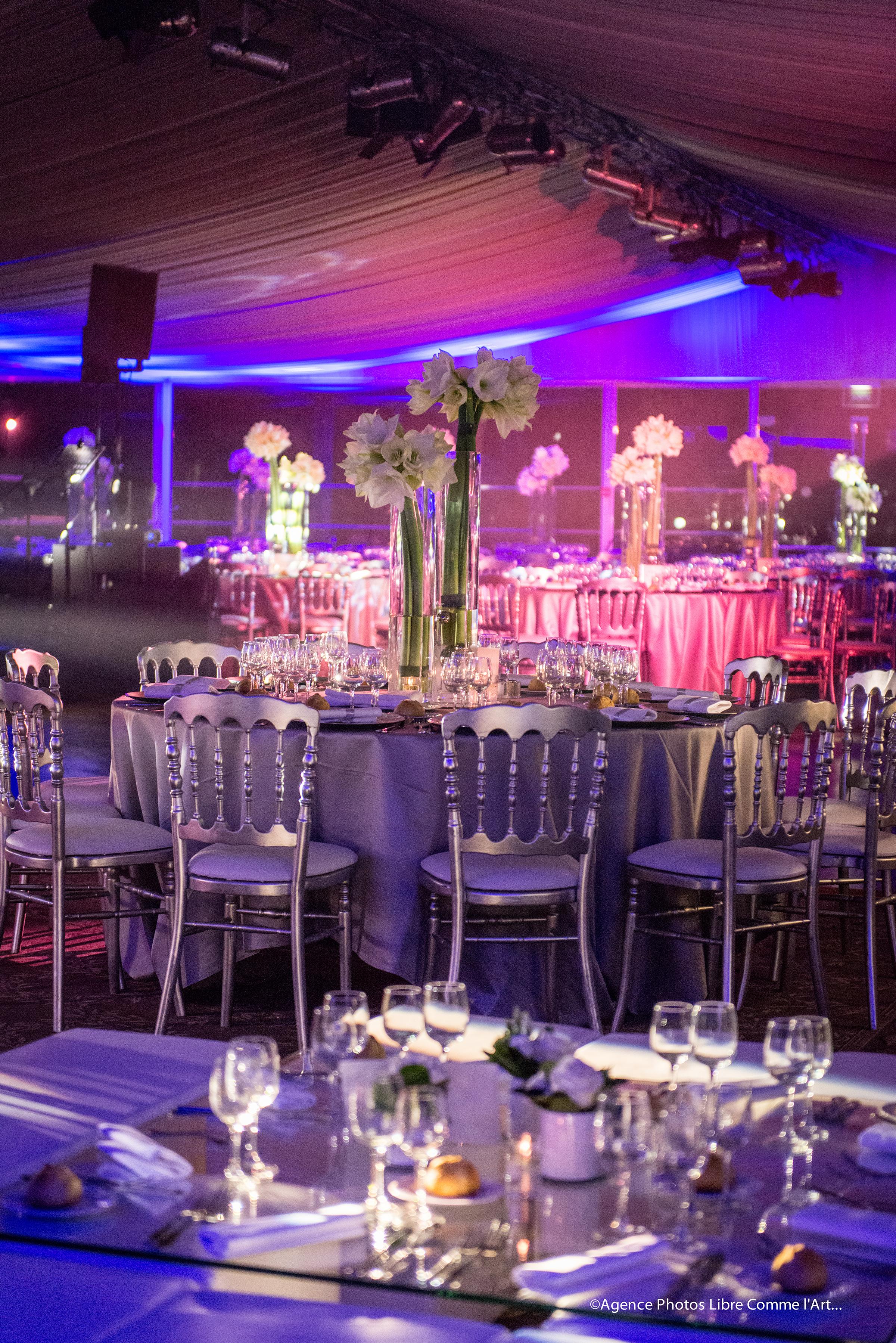 reception, décoration florale