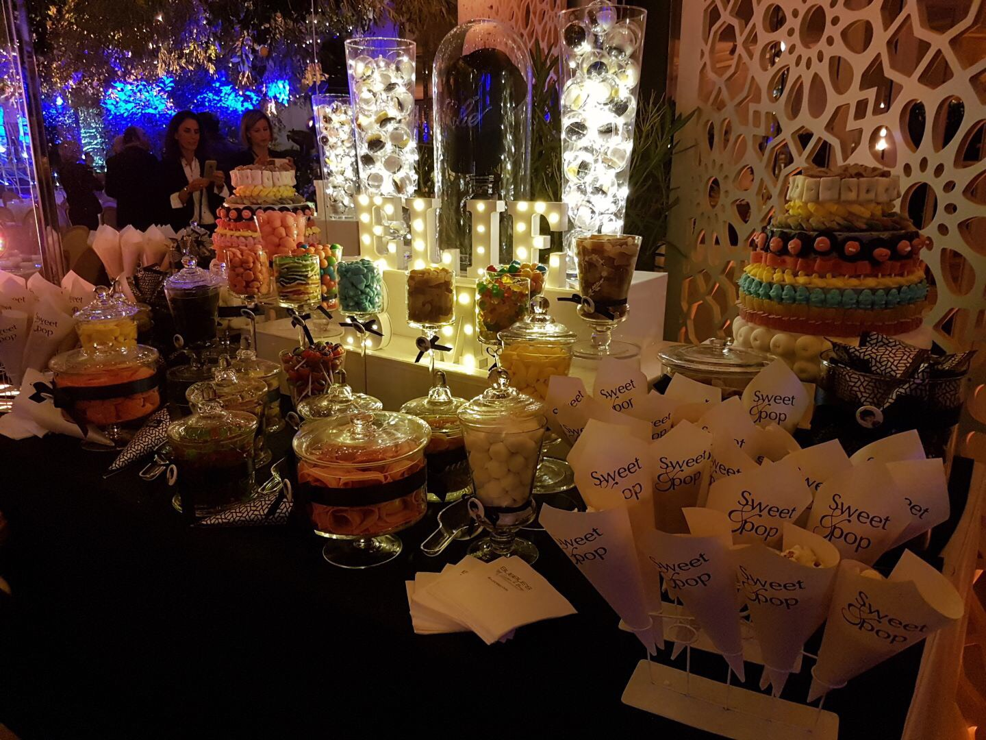 candy bar, buffet, party, candy, fête, bonbons,