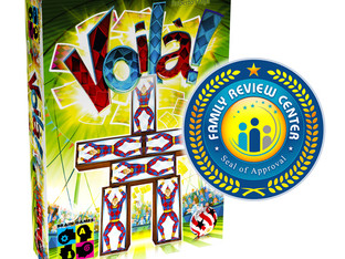 Voilà! Receives Family Review Center Award