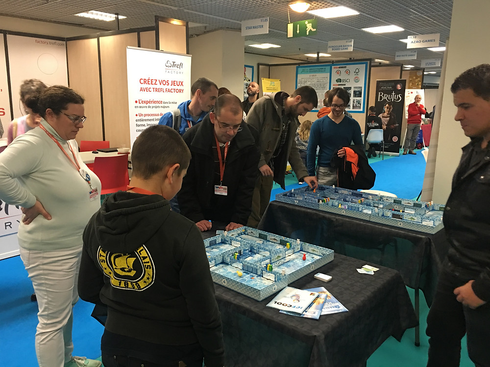 Brain Games at International Games Festival 2018 in Cannes