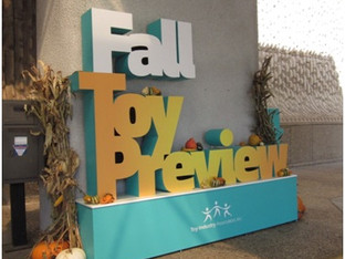 Fall Toy Preview in Dallas
