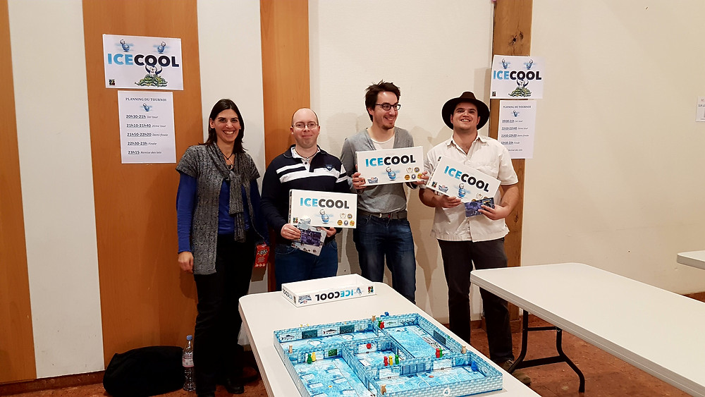 Winners of Ice Cool tournament in France