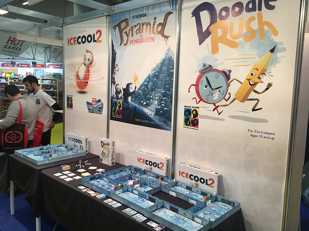 Brain Games at Spielwarenmesse 2018 in Nuremberg