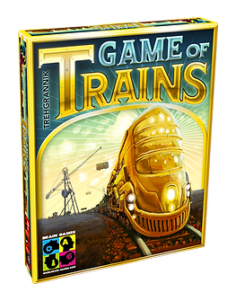 Game Of Trains board game by Brain Games Publishing