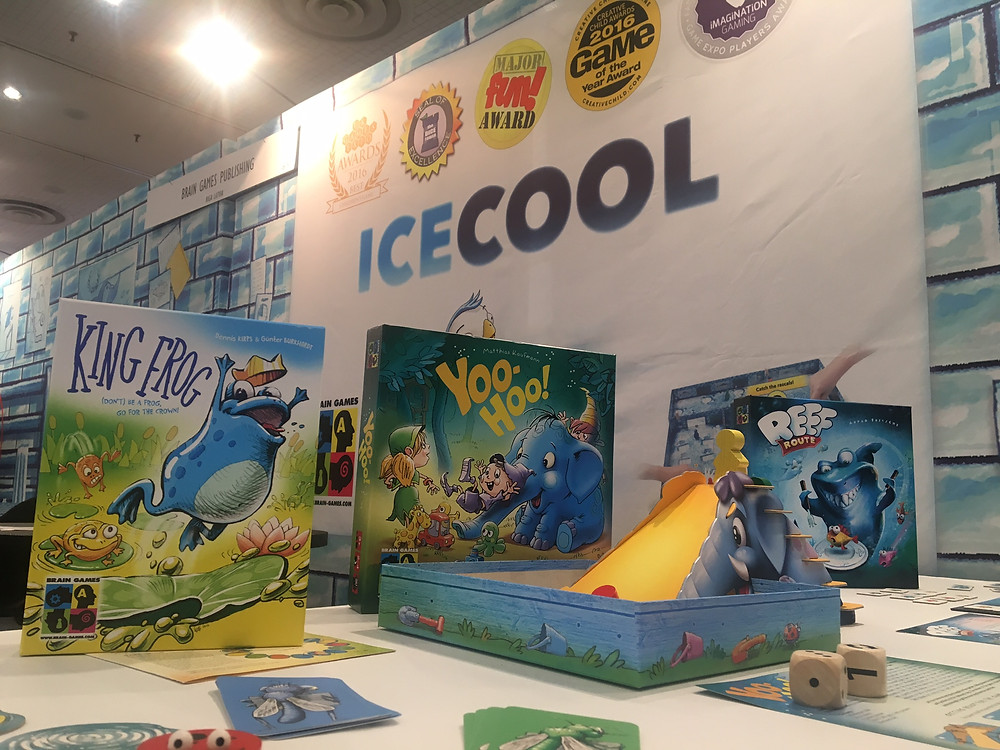 Brain Games Publishing at Toy Fair 2017 in New York