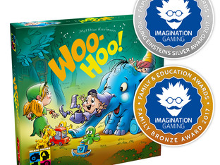 Woo-Hoo! Receives the Family Bronze Award 2017 and the Young Einsteins Silver Award 2017
