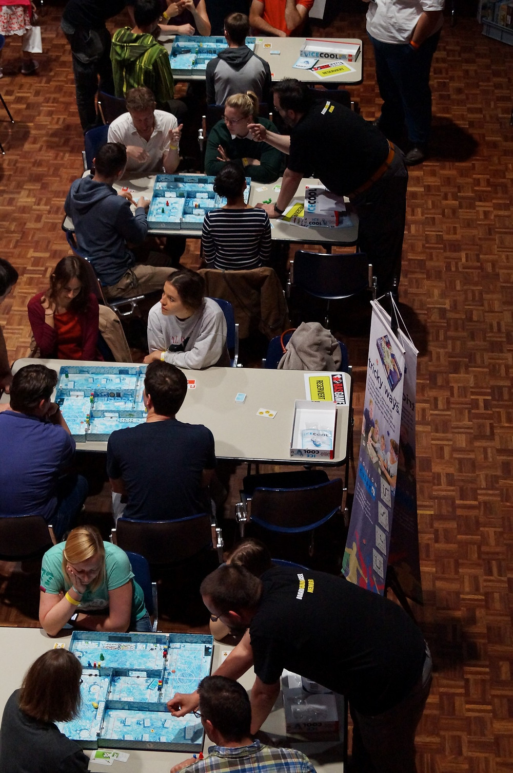 Ice Cool Tournament at BasGame 2017 in Switzerland