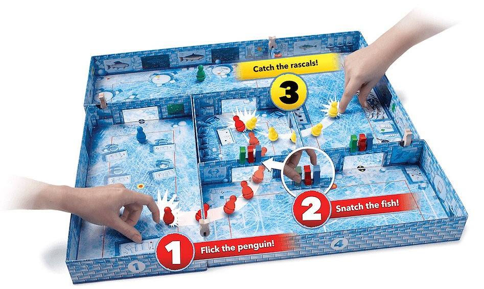 Ice Cool flicking board game