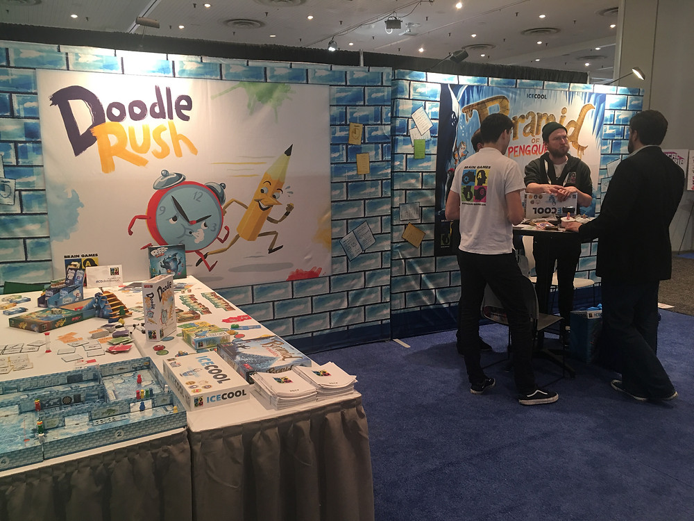 Brain Games at Toy Fair 2018 in New York