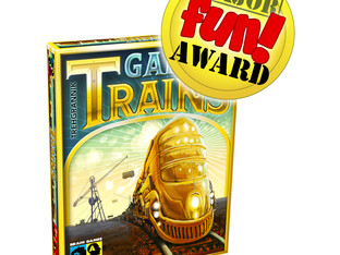 Game of Trains Receives Major Fun Award