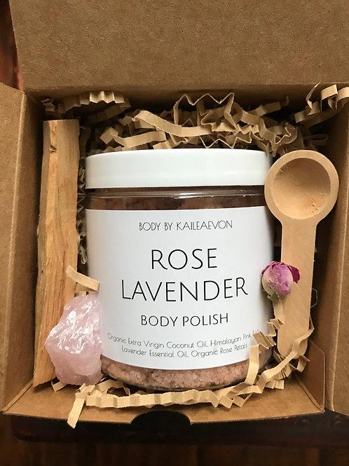 Rose Lavender Body Polish