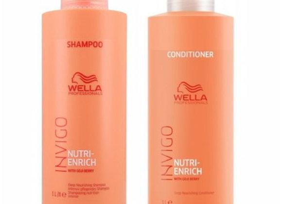 Nutri Enrich Shampoo + Condicionador 1 litro