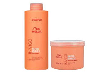 Shampoo 1 Litro + Mascara 500 ml - nutri Enrich Wella