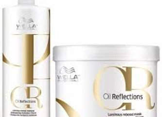 Oil Reflections Shampoo 1000ml + Mascara 500ML