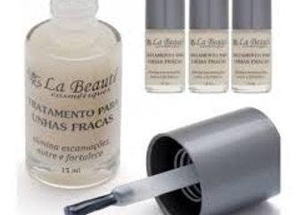 Base La Beauté - Unhas Fracas 15ml