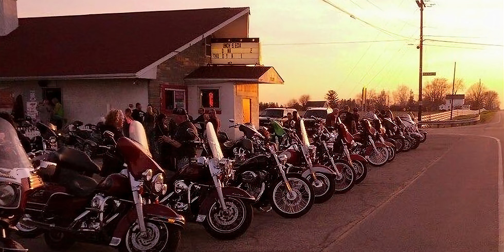 "Bike Night at ""Ten Mile Inn"""