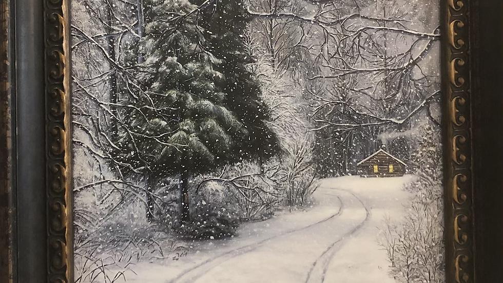 """Snowy Cabin"""