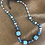 Thumbnail: Turquoise and copper necklace