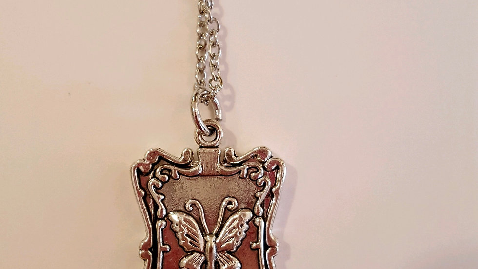 Silver Butterfly Pendent