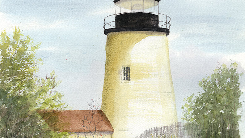 """""""Lighthouse by the Rocks"""""""