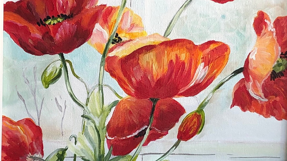 """""""Red Poppies"""""""