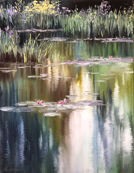 At the Pond ... 18x24 ... $1000.JPG