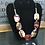 Thumbnail: Red, Brown, and Beige Necklace