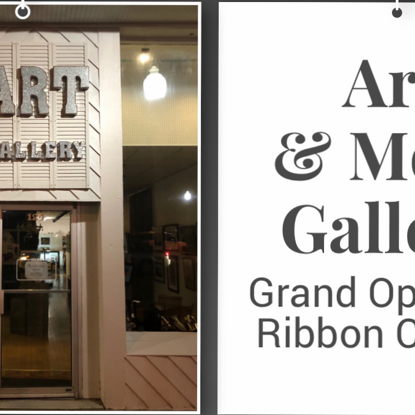 Grand Opening/Ribbon Cutting at Art & More Gallery