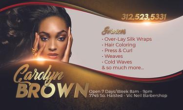 Carolyn Brown Biz Card