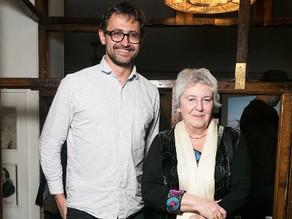 "Public-talk with Emilia Kabakova in the cafe ""Rubinstein"""