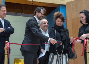 """Opening of the exhibition """"Abstract Art in Italy. Achille Perilli"""""""