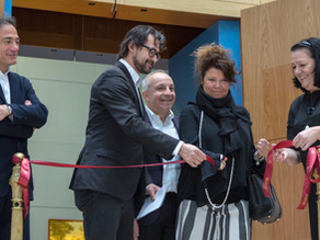 "Opening of the exhibition ""Abstract Art in Italy. Achille Perilli"""