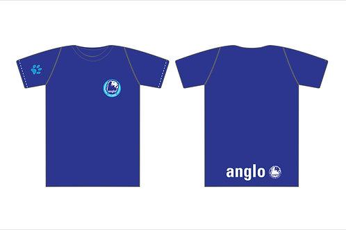 Camiseta Anglo azul marinho