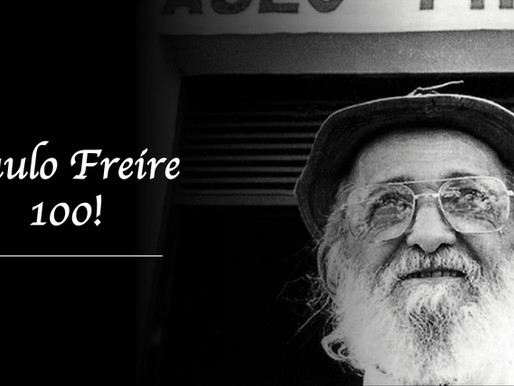 Paulo Freire 100 Series! Tribute to Paulo Freire on His Centenary of Birth