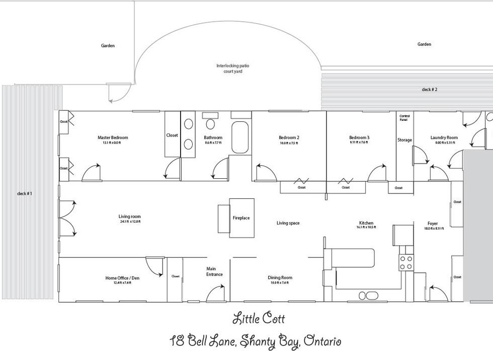 Floor Plan Bell Lane