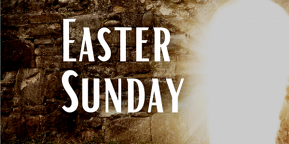 EASTER SUNDAY at 9:15am