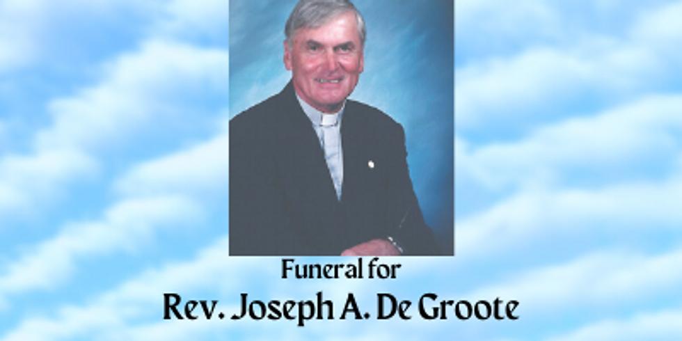 Reverend Joseph A. De Groote Funeral