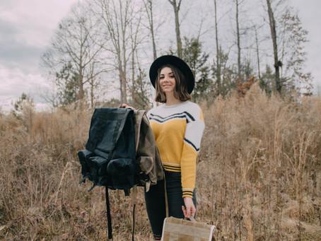 Meet the Designer of the Haversack: Cassidy Burel