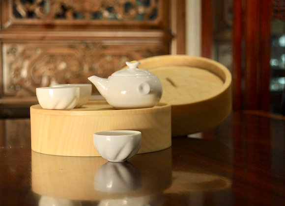 Soup Dumpling Style Tea Set 小籠包茶具組