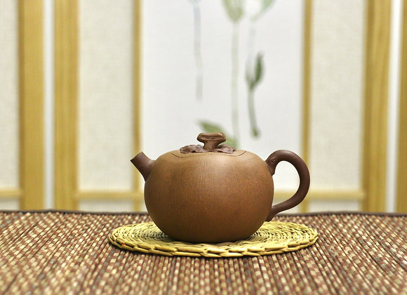 Persimmon Style  Zisha Teapot 柿子壺