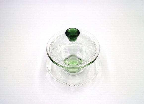 Glass Gaiwan  玻璃蓋杯(綠)