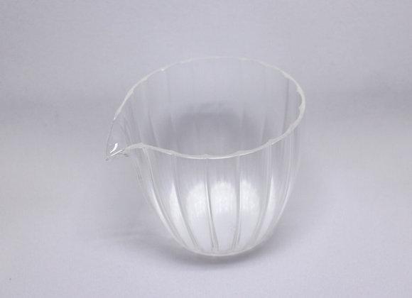 Glass Fairness Cup寬口多楞玻璃茶海