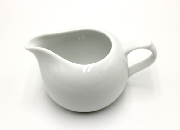 White Fairness Cup  with Handle 手把式茶海  (白)